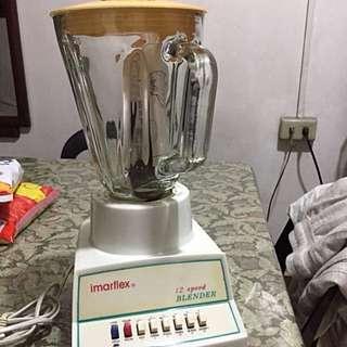 Imarflex blender