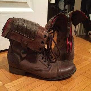 Steve Madden Boots With Zipper