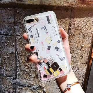 iPhone 8 Cosmetics Glitter Case