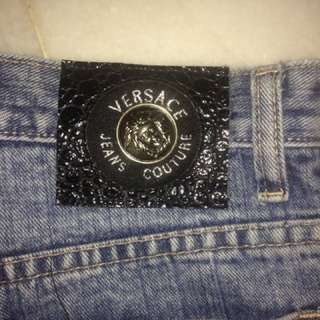 Authentic Versace Couture Jeans. Size 32. Made In Italy (by Ittierre SpA No. 210886). Excellent Condition!