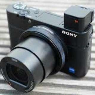 Camera Sony rx 100 mark iv