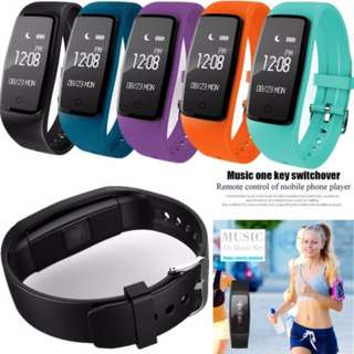 (Gadgets Town) 2017 New All-Time Heart Rate Sensor Fitness Sleep Monitor Pedometer Sports Smartwatch