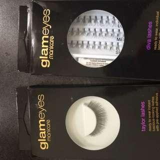 Glam eyes lashes
