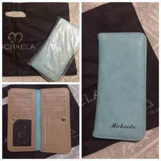 Michaela Mint Green Wallet