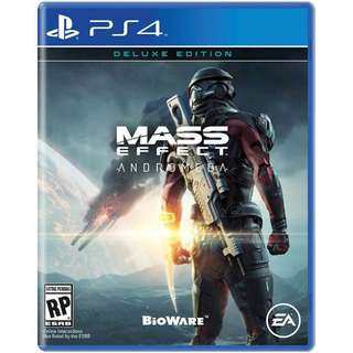 Brand New Mass Effect Andromeda Deluxe Edition