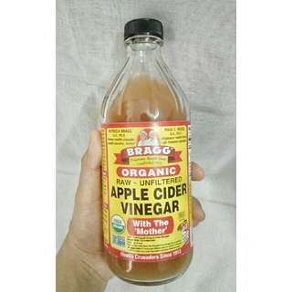 BRAGG Apple Cider Vinegar Unfiltered WITH THE MOTHER