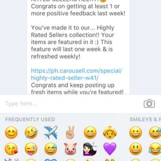 ANOTHER RECOGNITION FROM CAROUSELL