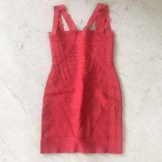 Herve Leger Inspired Dress