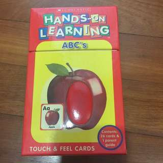 Mint condition touch & feel cards