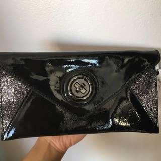MIMCO black clutch purse