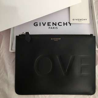 """AUTHENTIC GIVENCHY """"LOVE"""" Pouch"""