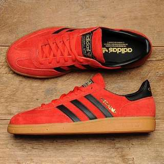 🚚 SALE🈹日本帶回🇯🇵Adidas Spezial Trainers Red/black全新
