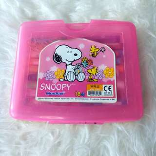 Snoopy Crayon Monami