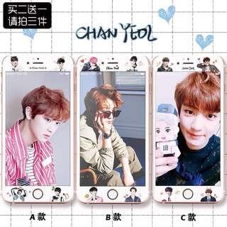 EXO Chan Yeol 灿烈 Screen Protector (Tempered Glass)