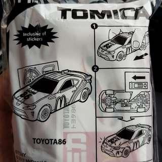 McD Tomica Toyota 86