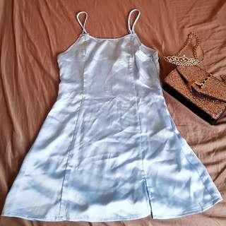 Silk feeling dress