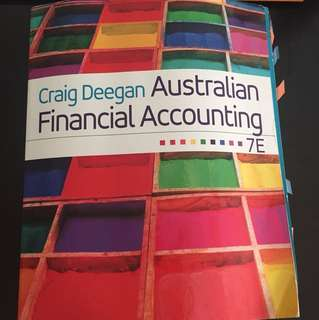 Financial accounting text book