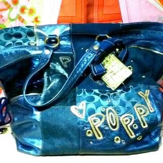 Coach Poppy Shoulder Bag Limited Edition