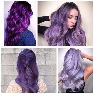 READYSTOCK 0/66 Purple /Violet Korea Professional Hair Color Cream