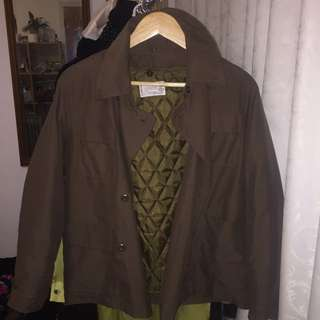 Brown jacket from Japan