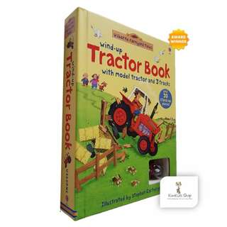 Usborne Wind-up Tractor Toy Book