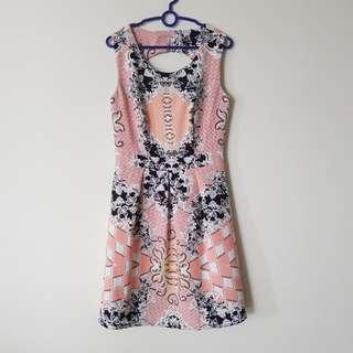 MGP label Pink Open back Dress