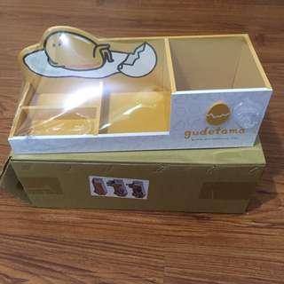 🚚 全新 蛋黃哥筆筒收納盒