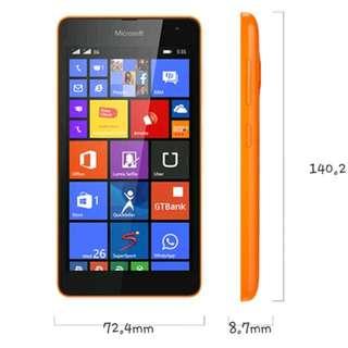Microsoft Nokia Lumia 535 Dual Sim Windows Phone