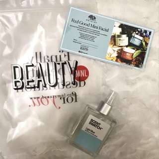 Scent Swatch Perfume (Dolce & Gabanna Light Blue inspired scent)