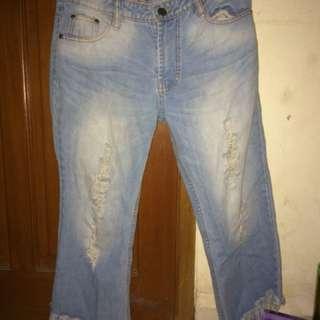 Jeans Cutbray// Boyfriend Jeans