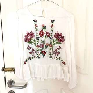 Zara Look Alike Blouse