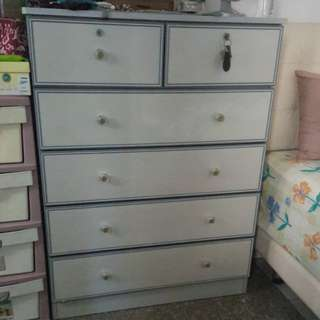 Chest Drawer Cabinet (6 drawers)