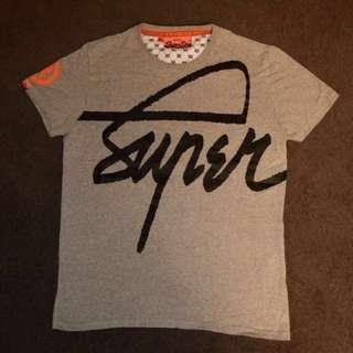 Grey Superdry Shirt