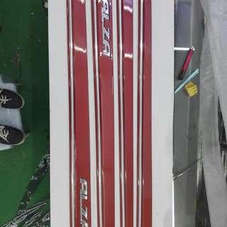 Perodua Alza Door Moulding