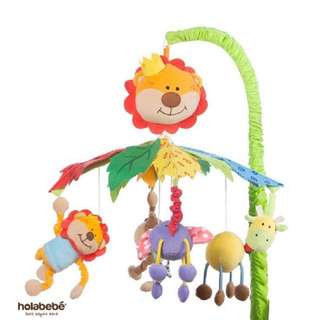 Musical mobile ( animal jungle ) for baby cot