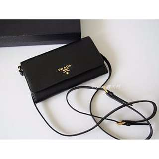 BRAND NEW PRADA Saffiano Leather Long Wallet