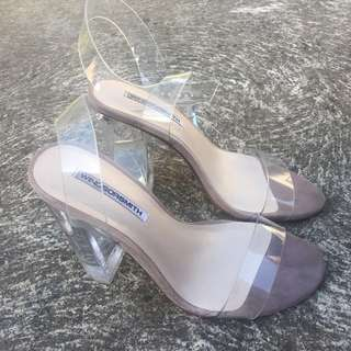Windsor Smith Gemma Clear PVC Sandal