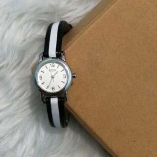 Preloved Black and White Talbots Watch