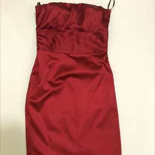 Warehouse Tube cocktail Dress (Red) size 8. Very nice & pretty.