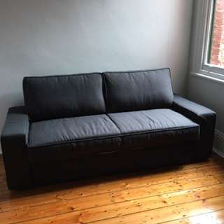 Rarely used IKEA Vilasund 2.5 seater sofa bed