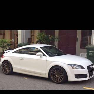 Audi TT Coupe for wedding, short term and Long term rent!