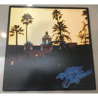 Eagles ‎– Hotel California, Japan Press Vinyl LP, Promo Copy, Asylum Records ‎– P-10221Y, 1976, no OBI