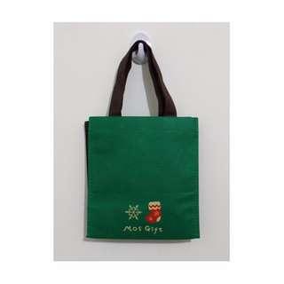 Mos Burger 摩斯漢堡不織布提袋 環保購物袋 (全新)