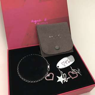 Agnes b accessories set