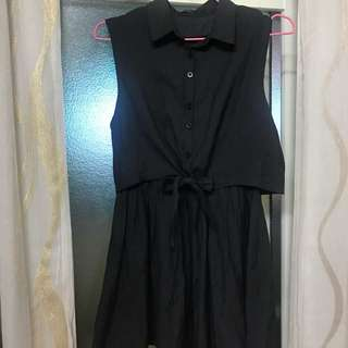 Queenshop 黑色洋裝