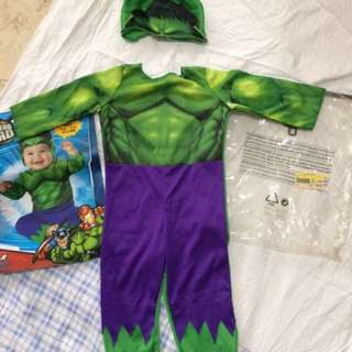 Hulk Infant Costume Resale