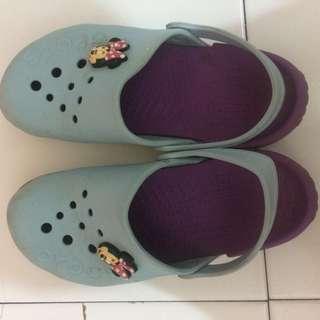 "Sandal sepatu ""Crocs"" Ori"