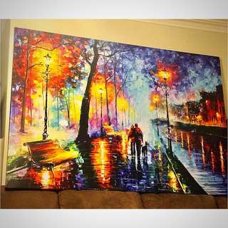 Monster Giant size  Painting Oil High Quality Canvas 1800x 1200mm