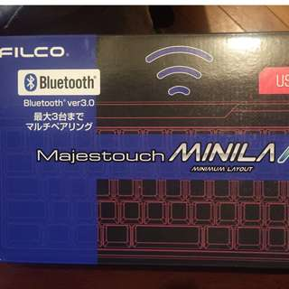 Filco Majestouch MINILA Air bluetooth鍵盤
