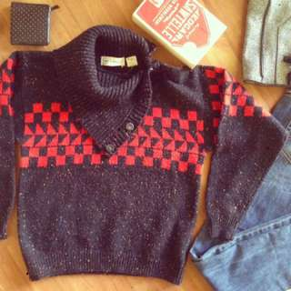 VINTAGE GAP CLOTHING CO SWEATER KNIT